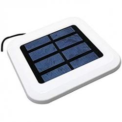 Placa solar para ventilador