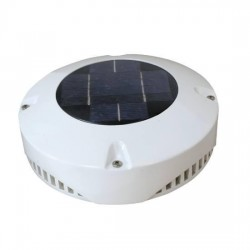 Ventilador con placa solar / recargable