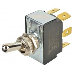 Interruptor metalico on-off-on