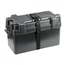 Caja batería PVC negra