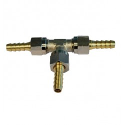 Conexión en T 6mm