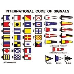 Código Internacional Señales Adhesivo