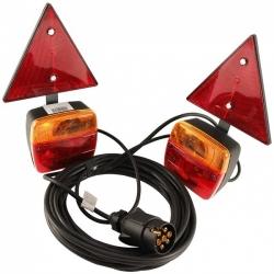 Kit luces remolque magnético