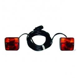 Kit luces remolque con cable