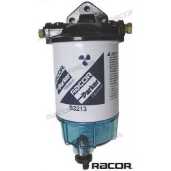 Filtro Decantador Gasolina 340 l/h Racor