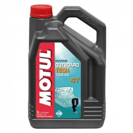 Aceite Fueraborda 10w40 Motul 5L