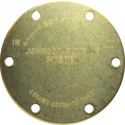 Tapa bomba Johnson F5B / F6B-9 - 01-45312-1