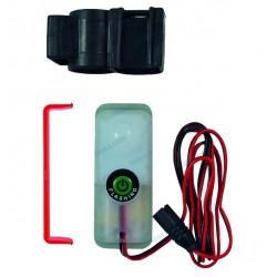 Luz chaleco salvavidas automática LED con soporte