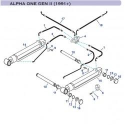 Despiece Trim Mercruiser ALPHA ONE GEN II (1991+)