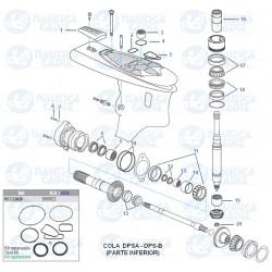 Despiece colas DP-SM (INFERIOR)