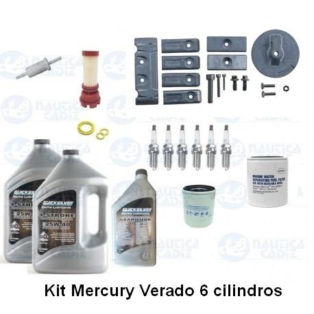 Kit Mantenimiento Mercury Verado 4 cil