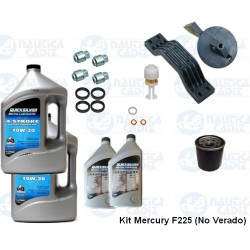 Kit Mantenimiento Mercury F225 EFI V6 (No Verado)