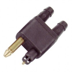 Conector Doble de Combustible