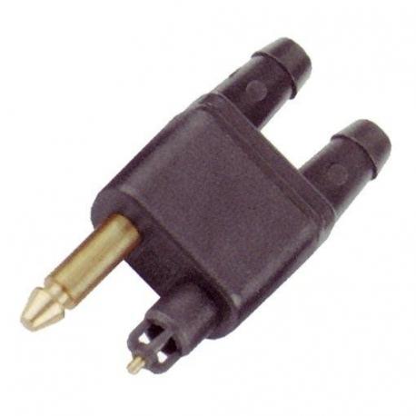 Conector Doble de Combustible