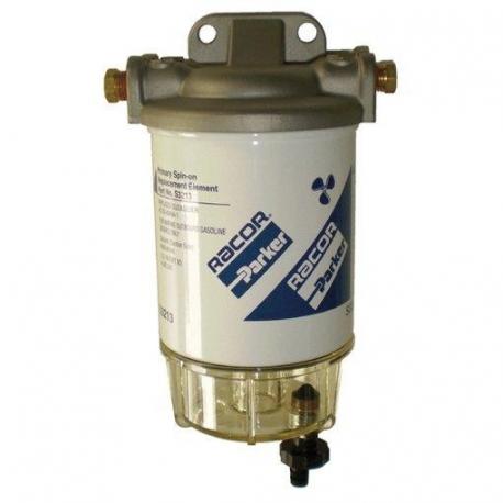 Filtro Decantador Gasolina Inox 340 l/h Racor