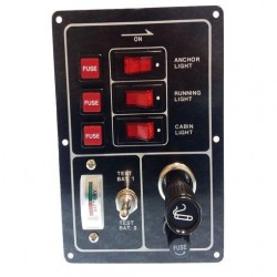 Panel Interruptor Aluminio Goldenship Nº1