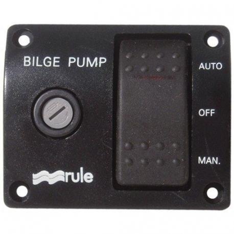 Panel Bomba de Agua Rule Nº4