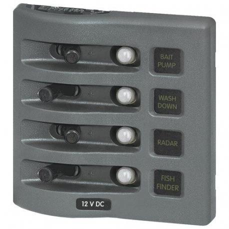 Panel Interruptor Blue Sea Systems Nº1