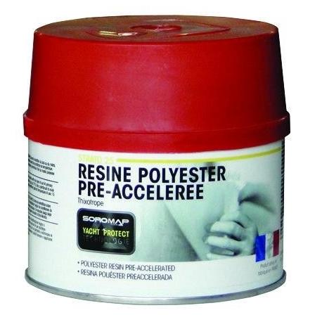 Resina poliester + catalizador Soromap
