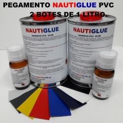 Kit 2 Pegamentos PVC 1L Nautiglue