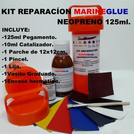 Kit Reparación Neopreno Marineglue