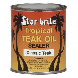 Aceite de Teka Star Britte Tropical