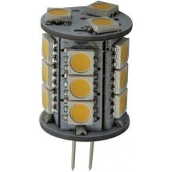 Bombilla G4 LED 18 SMD Cilindro Goldenship