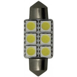 Bombilla LED Festoon 16x37mm Goldenship