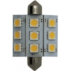 Bombilla LED Festoon 20x42mm Goldenship