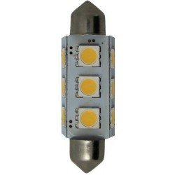 Bombilla LED Festoon 15x37mm Goldenship