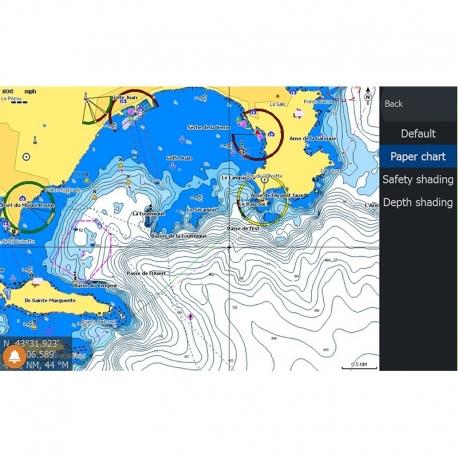CMAP MAX-N+ Local Cartografía