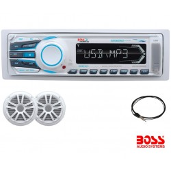 Pack Audio Boss Audio MR1308UAB Radio y Altavoces