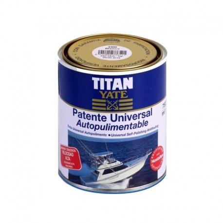 Antifouling Titan Yate Autopulimentable Azul 750cc