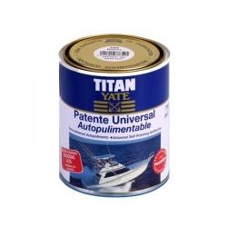 Antifouling Titan Yate Autopulimentable Azul 2.5L