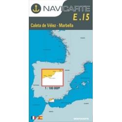 Carta Nautica Vélez - Marbella E-15 Navicarte