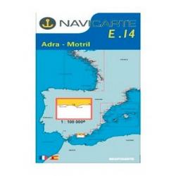 Carta Nautica Adra - Motril E14 Navicarte