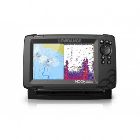 Lowrance Hook Reveal 7 HDI 83/200 GPS Plotter Sonda