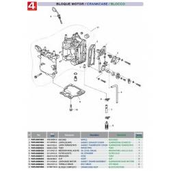 Bloque motor MFS8 / MFS9.8 HP