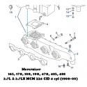 165, 170, 180, 190, 470, 485, 488 3.7L & 3.7LX MCM 224 CID 4 cyl (1980-89)
